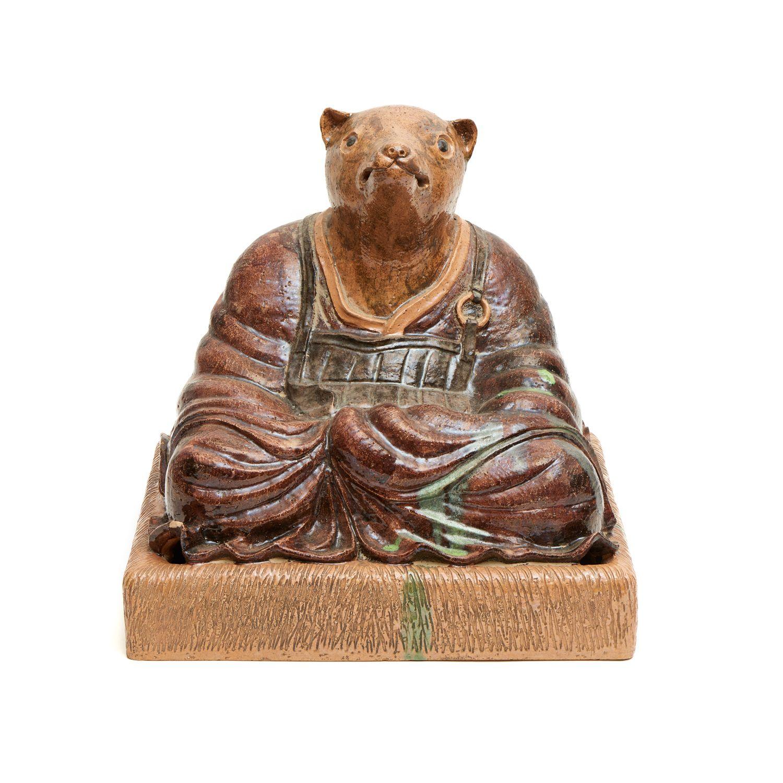 Tanuki robuta | Antique stores, Lion sculpture, Tea ceremony