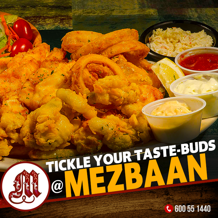 tickle your taste buds with our seafood platter and have a mouthful of your favourites