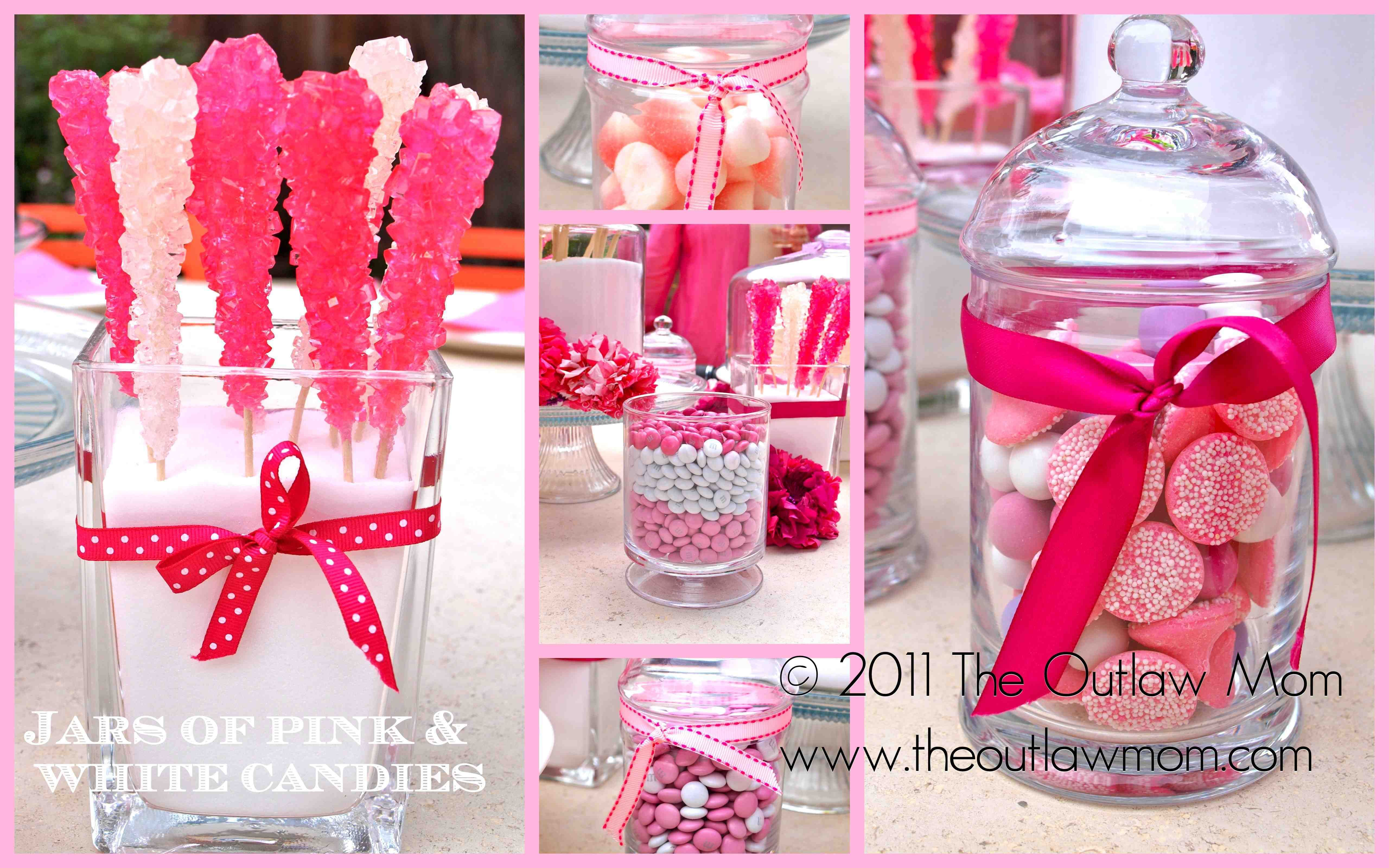 Different candy center pieces for wedding and you can do it in any ...
