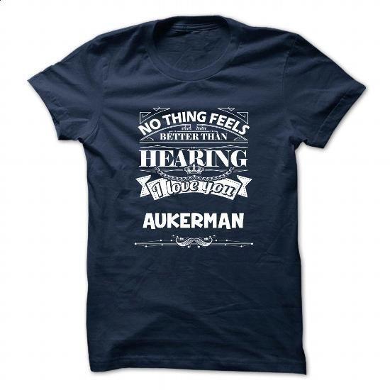 AUKERMAN - #gift certificate #mens shirt. PURCHASE NOW => https://www.sunfrog.com/Camping/AUKERMAN-115626191-Guys.html?id=60505