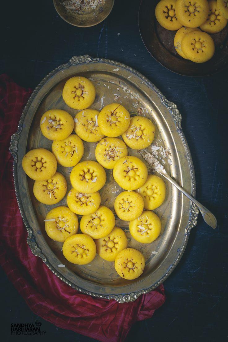 indian sweets instant kesar peda