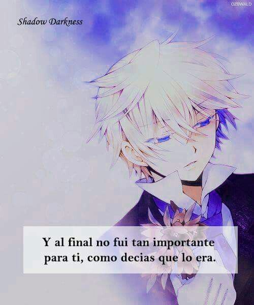 Pin De Nayeli Luna En Anime Frases Animo Frases Y Frases De Amor