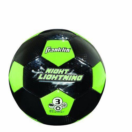 Franklin Sports Night Lightning Soccer Ball Size 4 By Franklin 7 92 Our Franklin Sports Night Lightning Soccer Ball Ha Soccer Ball Franklin Sports Soccer