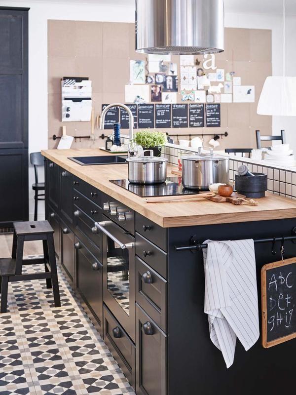 Cocinas r sticas con encanto deco cocinas pinterest for Cocinas rusticas ikea