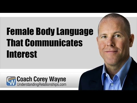 female body language signs of interest