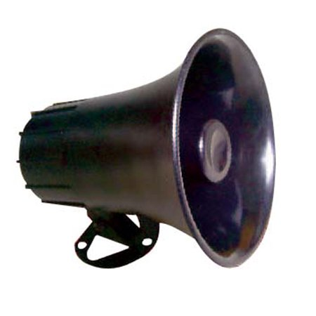 """Indoor Outdoor PA Horn Speaker 6"""" Portable PA Speaker with 8 Ohms"""