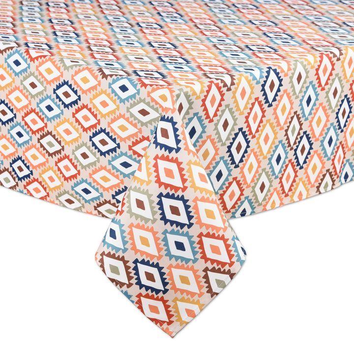Mesa Diamond Indoor/Outdoor Tablecloth | Art Home | Pinterest ...