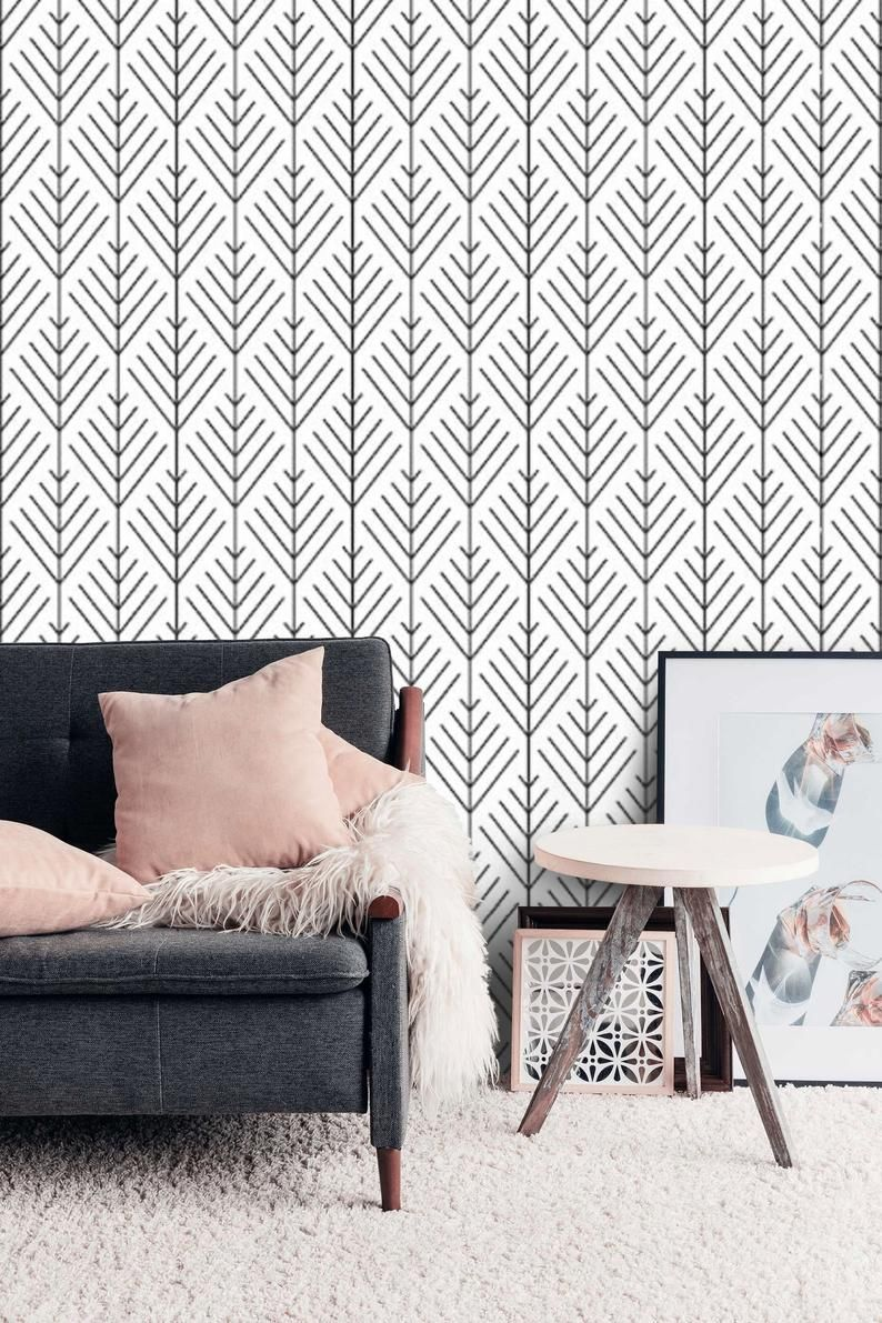 Removable Wall Paper Peel And Stick Temporary Wallpaper Etsy Bedroom Wallpaper Accent Wall Temporary Wallpaper Bedroom Temporary Wallpaper