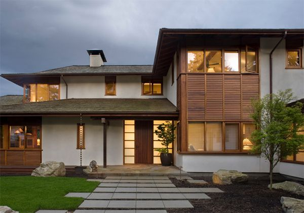 20 Asian Home Designs With A Touch Of Nature Home Design Lover Asian House Modern Bungalow House Contemporary House Exterior