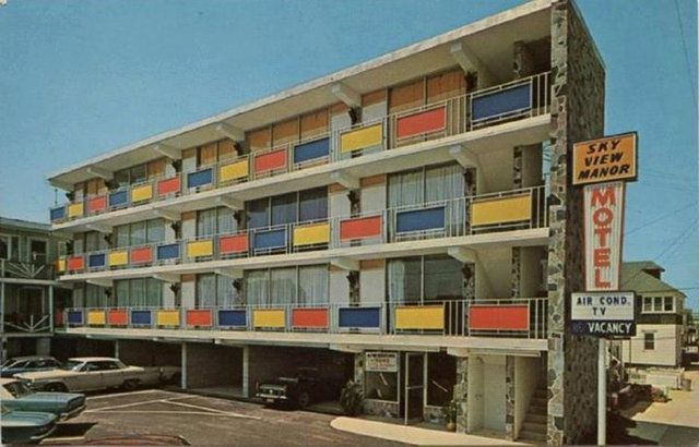 Vintage Photos Of N J Hotels Motels And Inns Hotel Hotel
