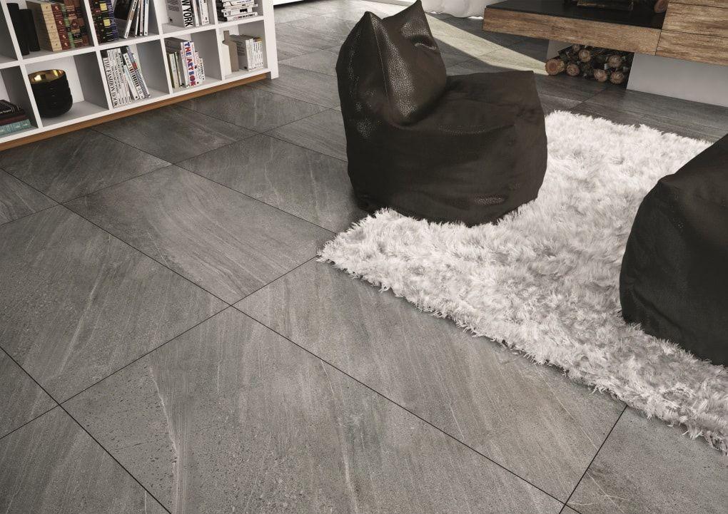 extra grote grijze vloertegels | inspiratie grijze tegels | pinterest, Deco ideeën