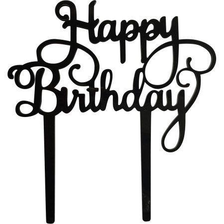 Surprising Happy Birthday Cake Topper Bouquets Birthday Party Decorations Funny Birthday Cards Online Alyptdamsfinfo