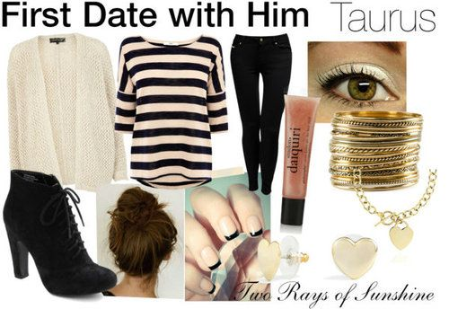 First wear taurus with date man what on to Men Reveal