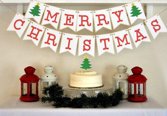 Pdf Christmas Printables Christmas Banner Christmas