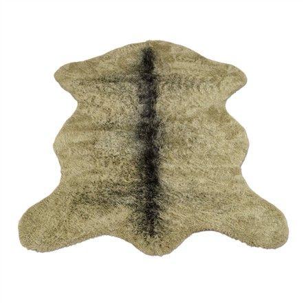 Classic Grizzly Bear Pelt Rug Faux Bear Skin Rug Bear Area Rug Bear Skin Rug