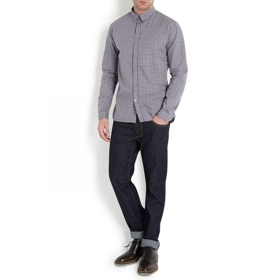Larkee mid-rise straight leg jeans, Straight, Harvey Nichols Store View