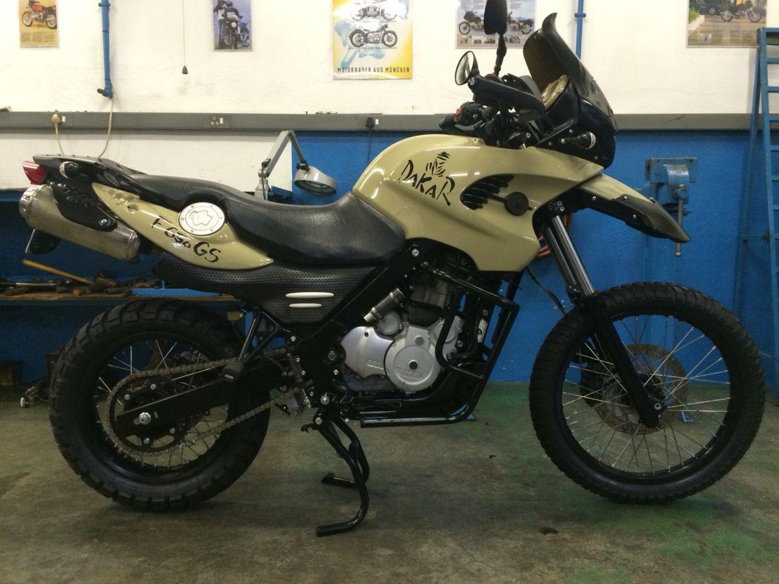 Bmw F650gs Desert Dakar By Cytech Motorcycles Bmw Custom Bikes