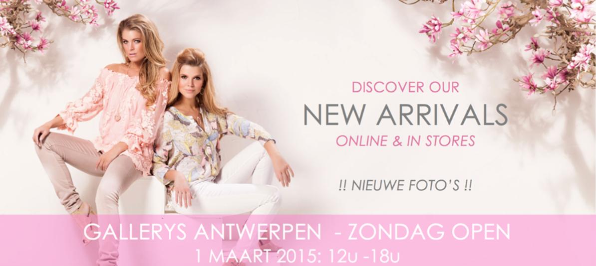Gallerys Antwerpen ZONDAG OPEN! 1 maart 2015: 12u - 18u