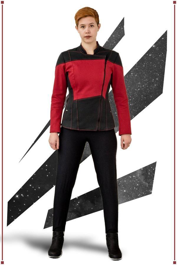 Mens Star Trek The Next Generation Command Uniform Fancy