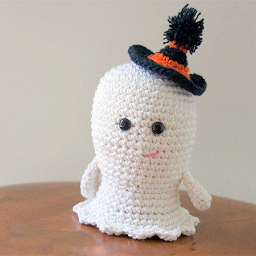 25 Free Halloween Ghost Crochet Patterns | Halloween ghosts, Free ...