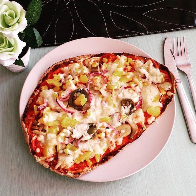 hur mycket kalorier innehåller en pizza