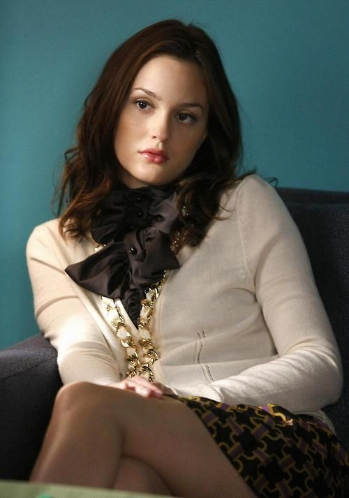 Blair Waldorf in my Milly Sweater