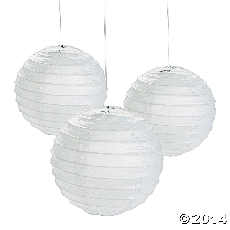 Mini Paper Lanterns - 4 1/2\