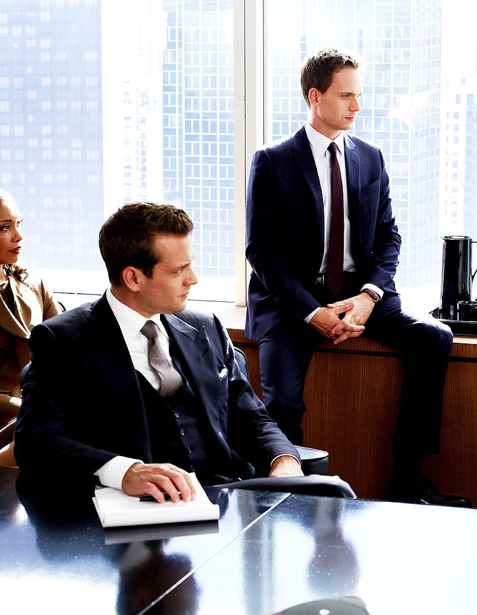 Harvey Specter, Mike Ross, and Jessica Pearson | SUITS | Pinterest ...