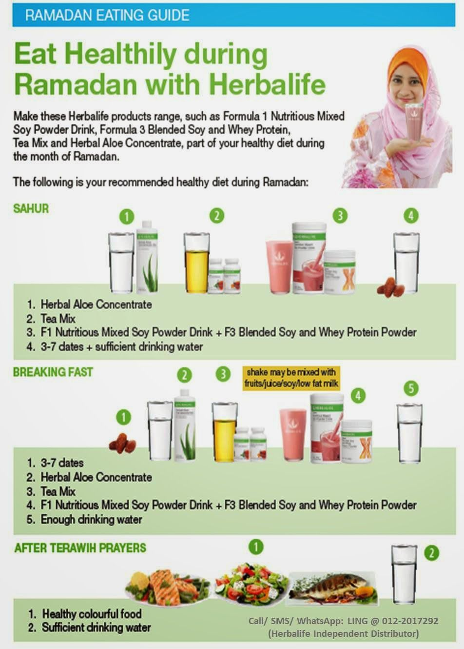 Herbalife Nutrition Ramadan Eating Guide Herbalife Independent Distributor Malaysia Ramadan Diet Herbalife Diet Herbalife Nutrition