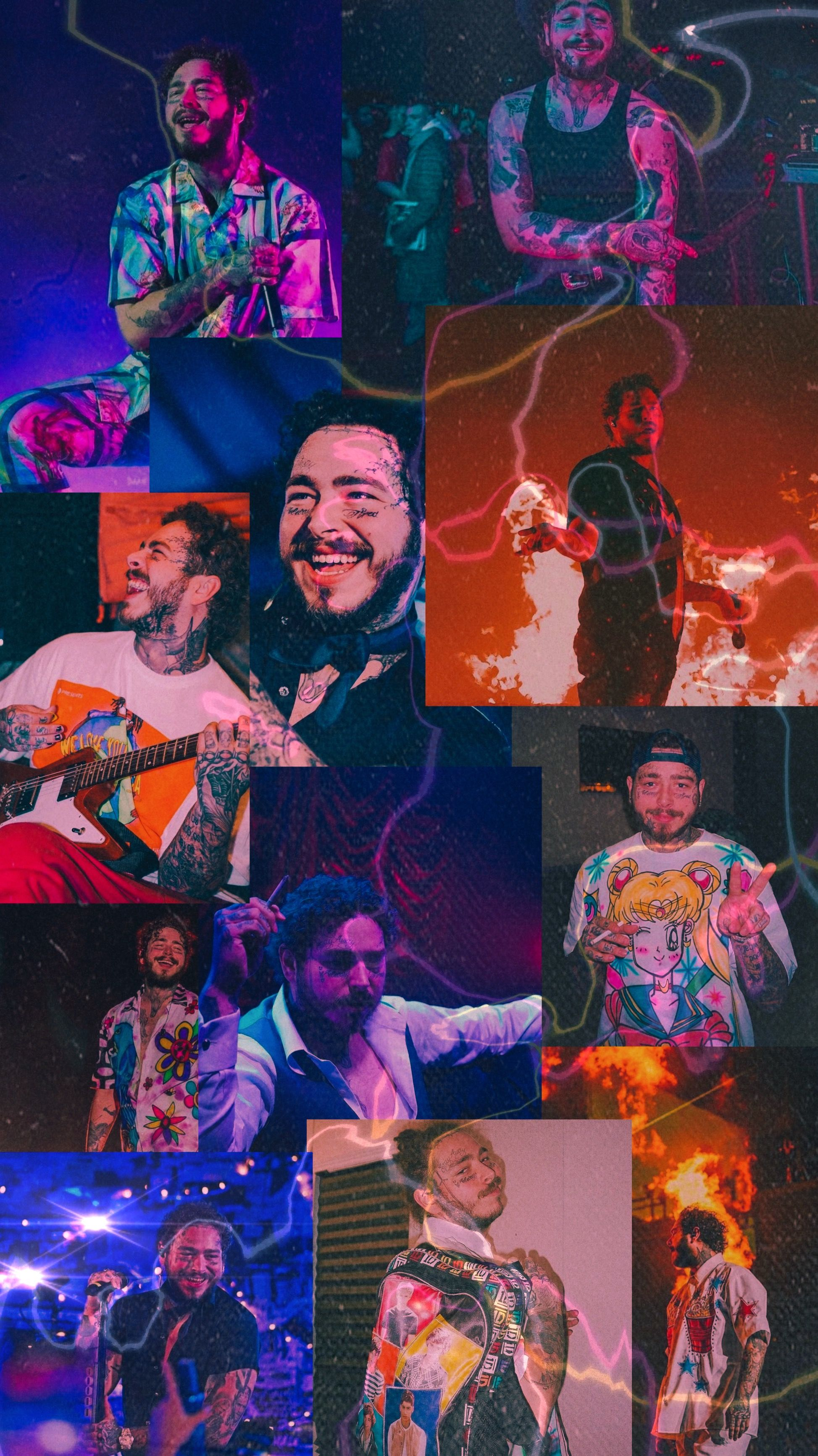 Pin by ⒺⓂ🖤 on Post malone in 2020 Post malone wallpaper