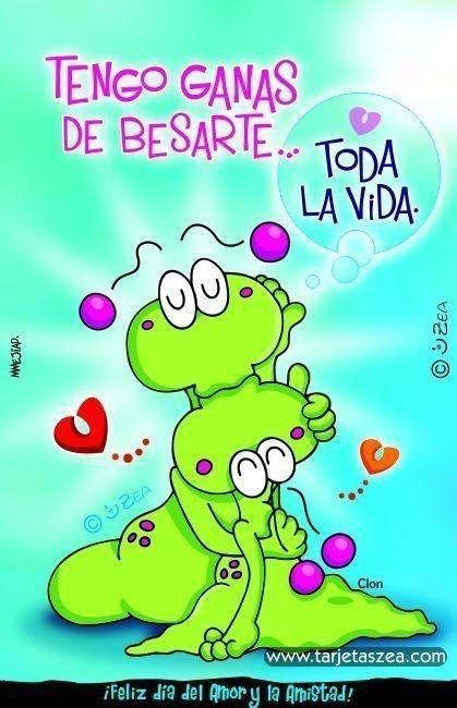 Tarjetas Zea De Amor15 | Love And Marriage, Great Inspirational Quotes, Classic Cartoon Characters 455