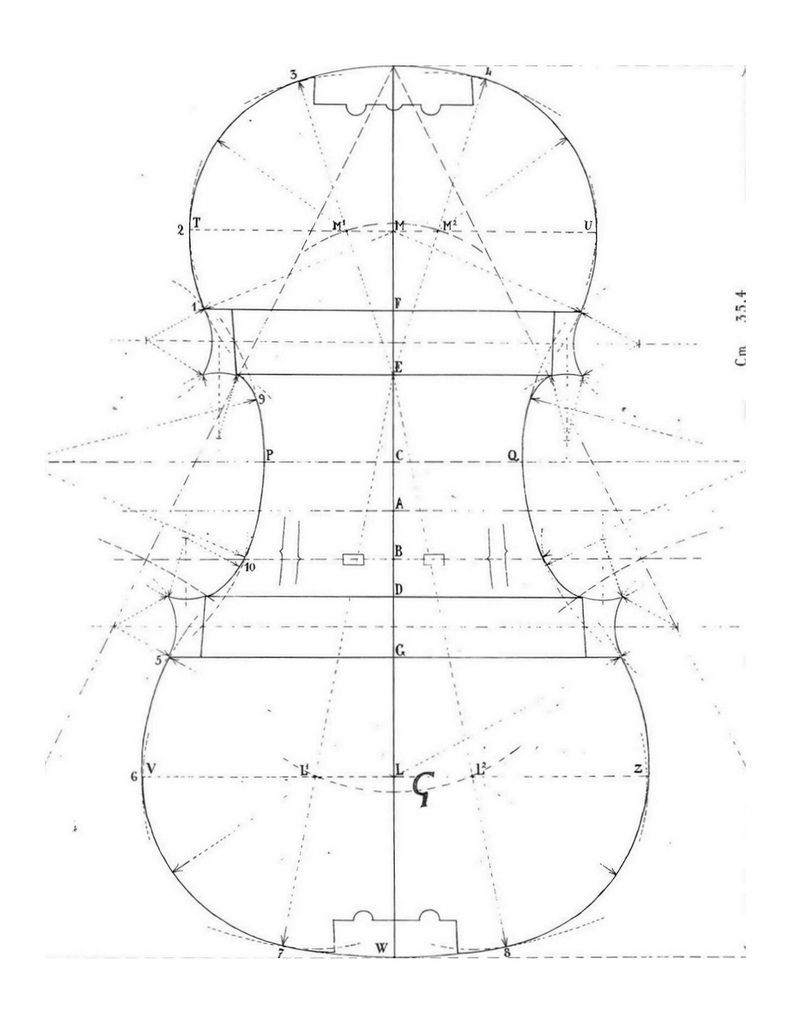 Stradivari G Mold | Viori | Pinterest | Construction, Instruments ...