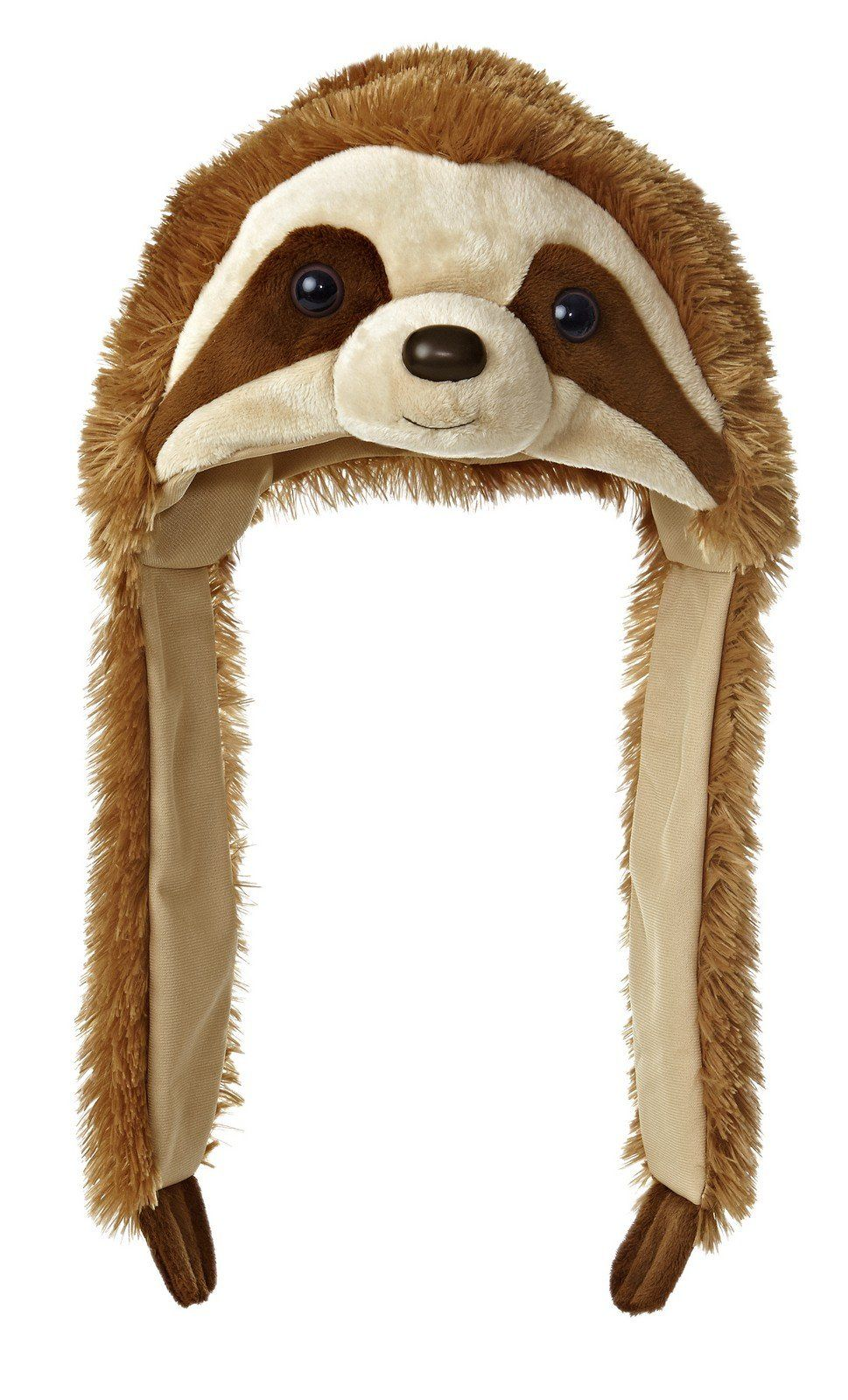 Amazon Com Sloth Pom Hat Natural Toys Games Sloths Sloth