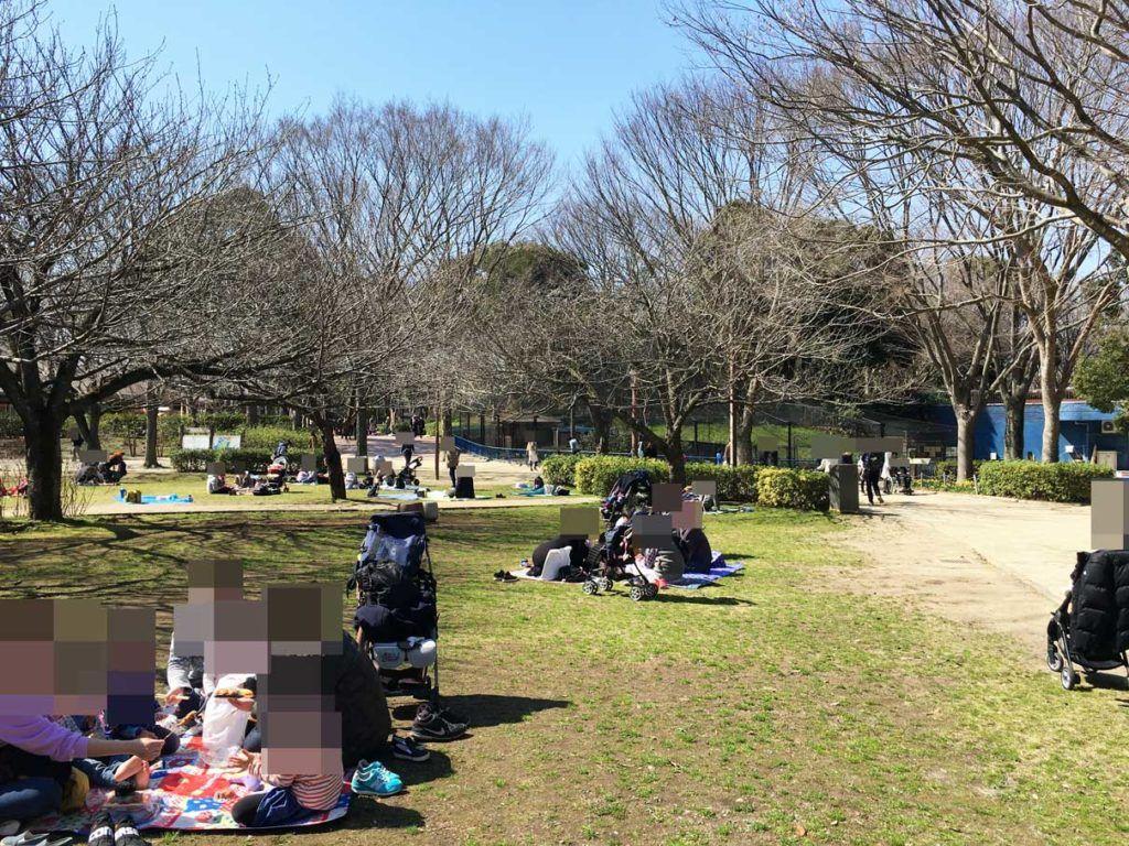 千葉市動物公園はお弁当 飲み物持ち込みok 芝生広場 レジャーシート活用 動物園 動物公園 レジャー