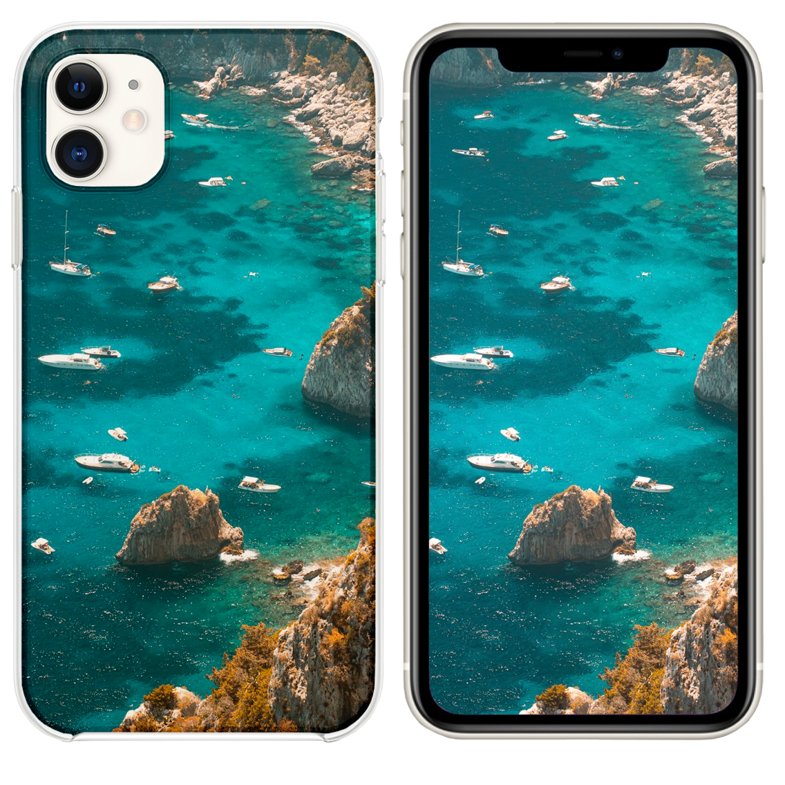 Boats Near Seashore Iphone 11 Case And Wallpaper Iphone Case Covers Iphone Iphone 11