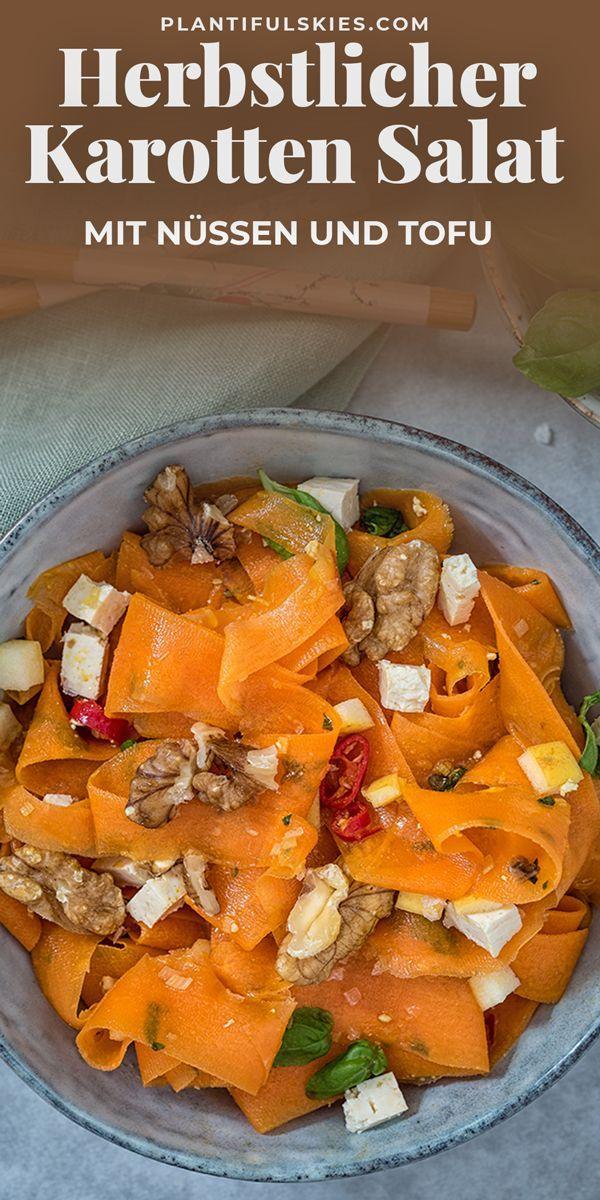 Meal Prep tauglich: Ayurveda Karottensalat und eine tolle Curry Mischung - auf plantifulskies.com