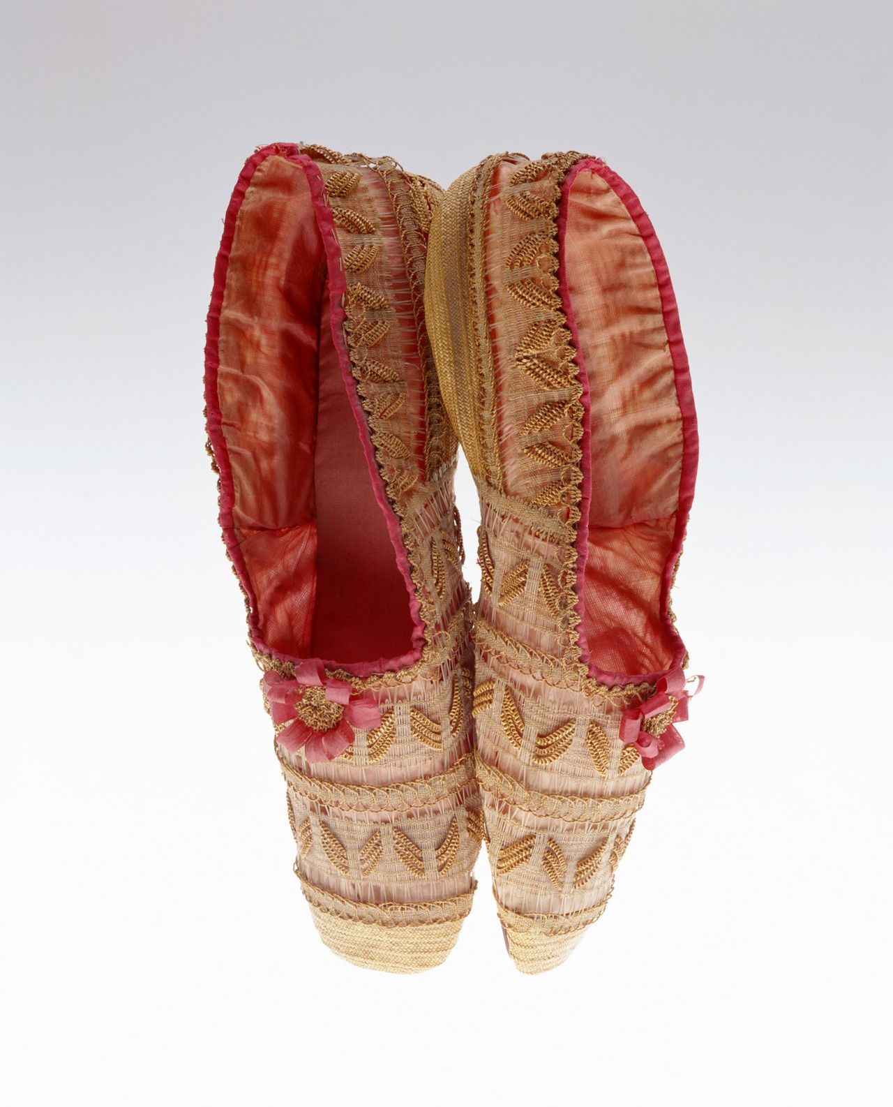 Slippers 1830s The Kyoto Costume Institute