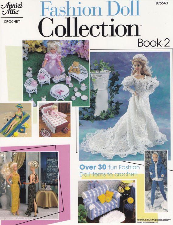 Fashion Doll Collection Book 2, Annie\'s Attic Crochet Pattern ...