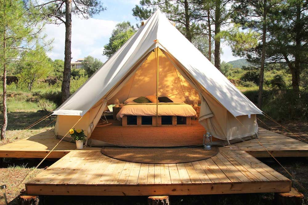 Explore Luxury C&ing Bell Tent and more! & decking bell tent - Google Search | Bell Tent Project | Pinterest