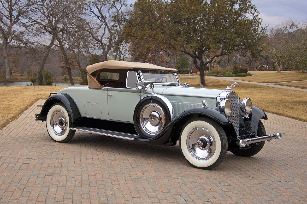 1930 Packard Model 733 Roadster - (Packard Motor Car Company Detroit ...