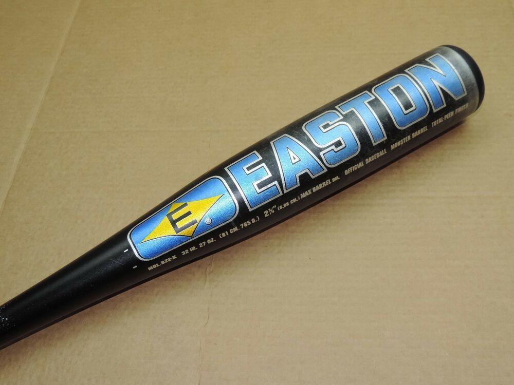 Easton Z2k Bz2 K 32 27 5 Zcore Sc500 2 3 4 Dia Monster Barrel Baseball Bat Baseball Bat Bat Baseball