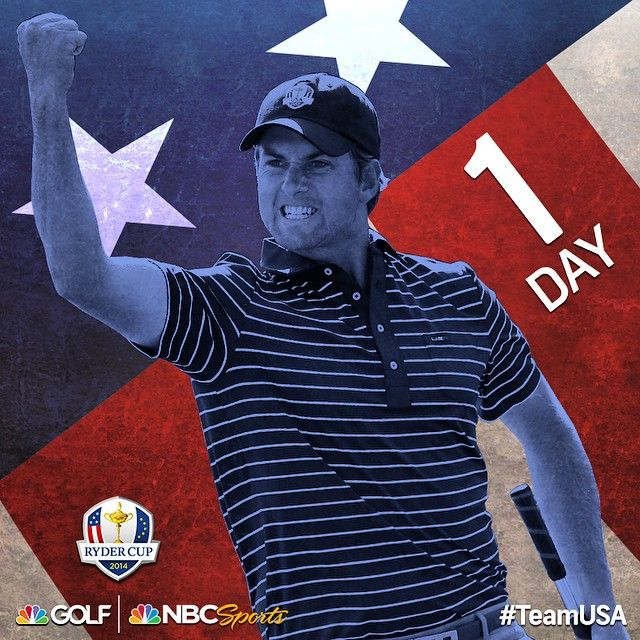 Webb Simpson and #TeamUSA Begin Their Quest For Ryder Cup Redemption. -GolfChannel #RyderCup2014