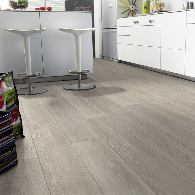 Lame pvc clipsable beige tarkett starfloor click 30 maisons for Sol cuisine pvc