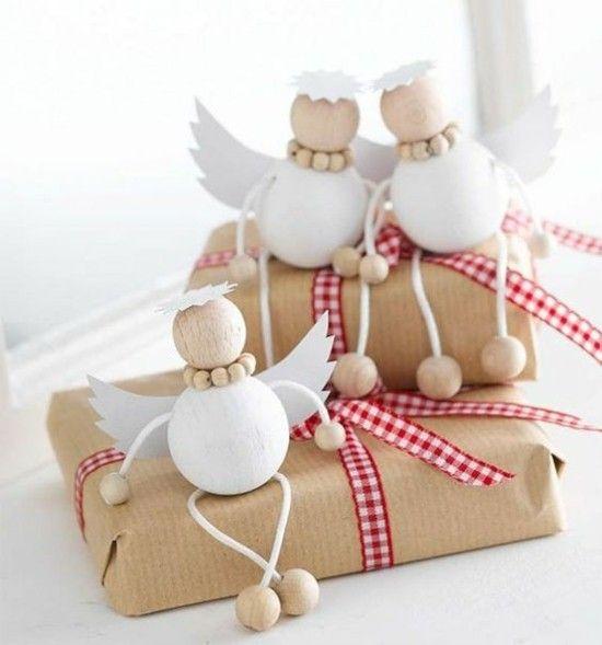 Engel basteln - 80 Ideen für kreativen Christbaumschmuck und nette Weihnachtsgeschenke #christbaumschmuckbastelnkinder