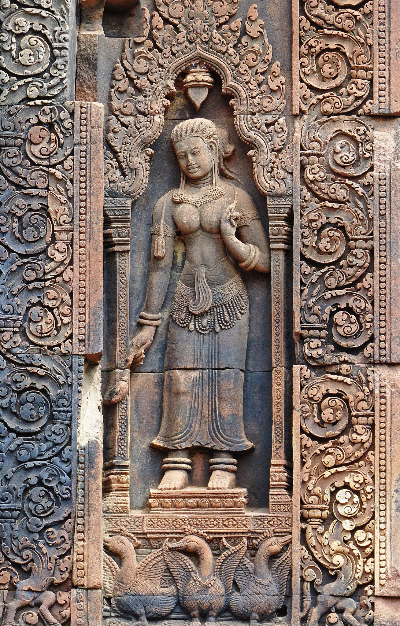 Free images old cambodia culture temple architecture