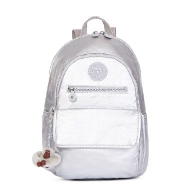 Tyler Metallic Backpack - Platinum Metallic