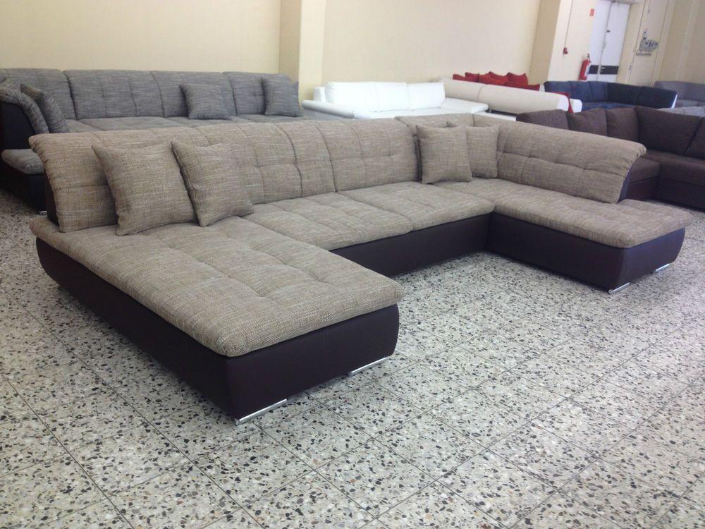 LIEFERPREIS 999,-\u20ac U Big Sofa COuch U Wohnlandschaft SOFORT AB LAGER - big sofa oder wohnlandschaft