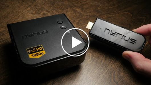 Nyrius ARIES Pro Wireless HDMI Transmitter and Receiver To Stream HD