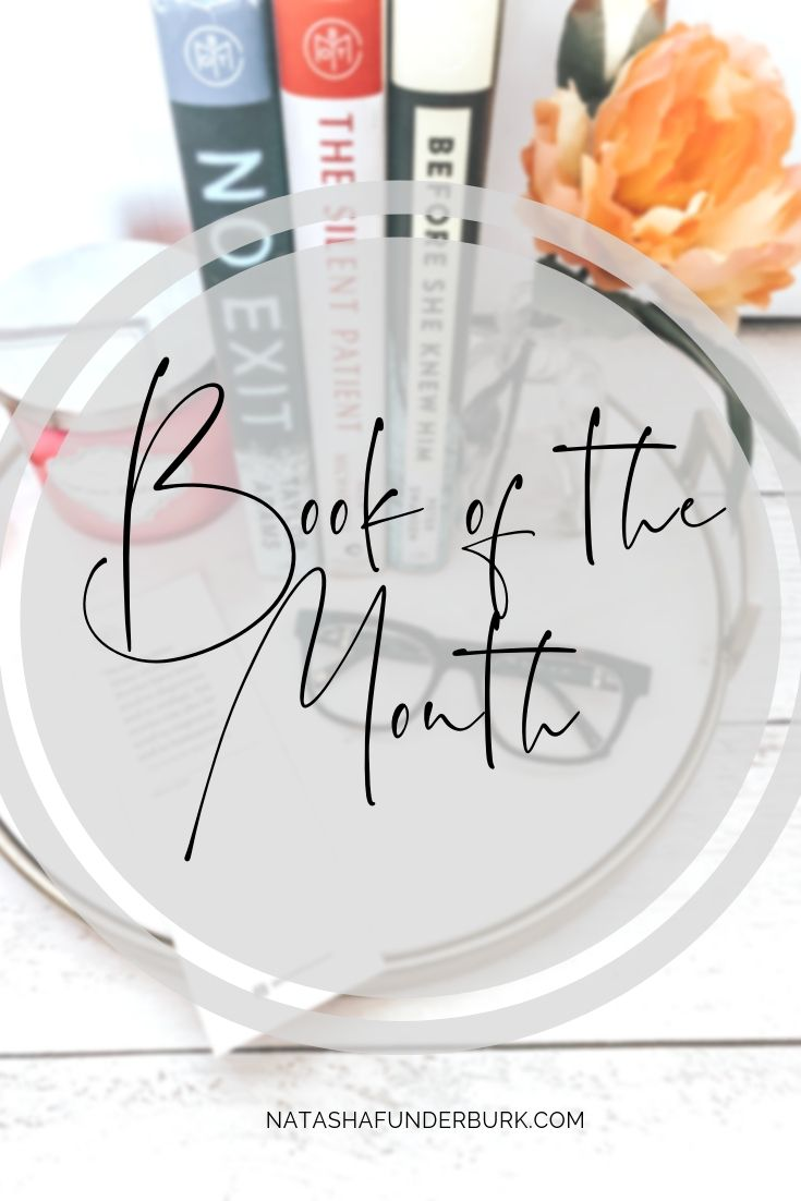 Aprils book of the month selection from botm club before