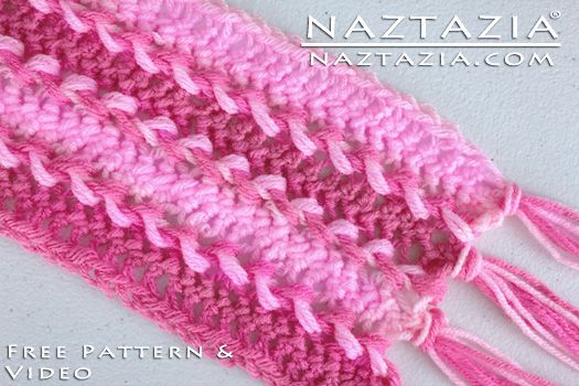 How To Crochet Hairpin Lace Fork Crochet Horquilla Free Pattern and ...